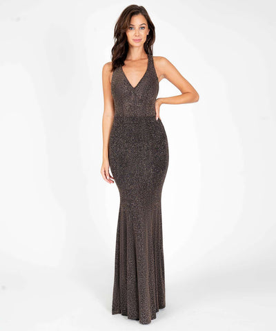 Jolie Glitter Maxi Dress - Image 2
