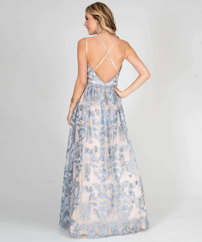 Alexandria Embroidered Ball Gown - Image 2