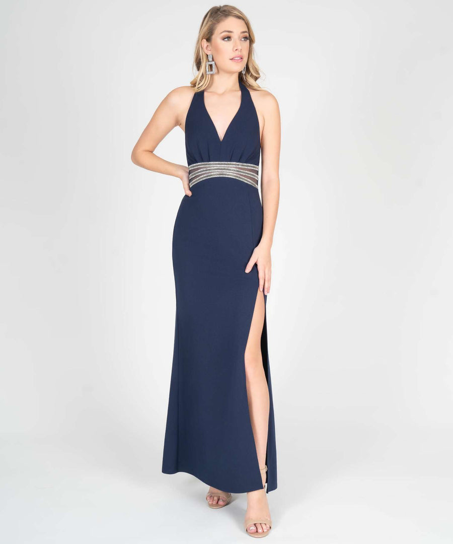 Sara Halter Maxi Dress-New-Midnight-Speechless.com