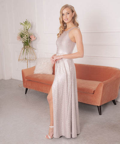 Madi Metallic Maxi Dress