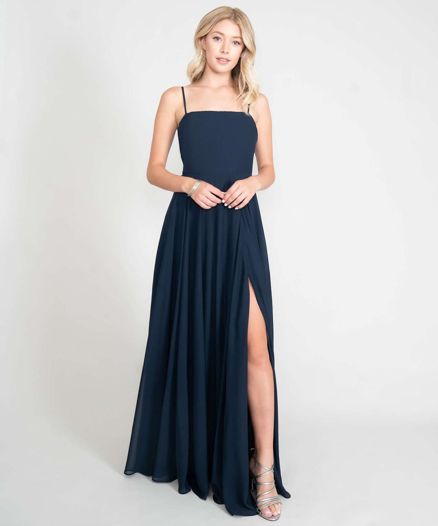 Emerson Exclusive Maxi Dress-New-0-Navy-Speechless