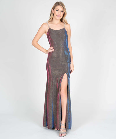 Jordan Metallic Shimmer Maxi Dress - Image 2