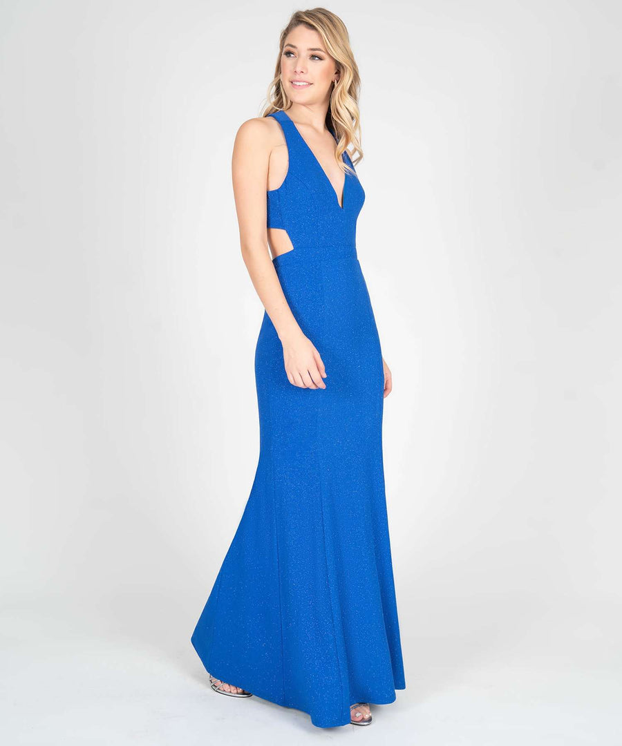 Hanna Open Back Maxi Dress-New-Speechless.com