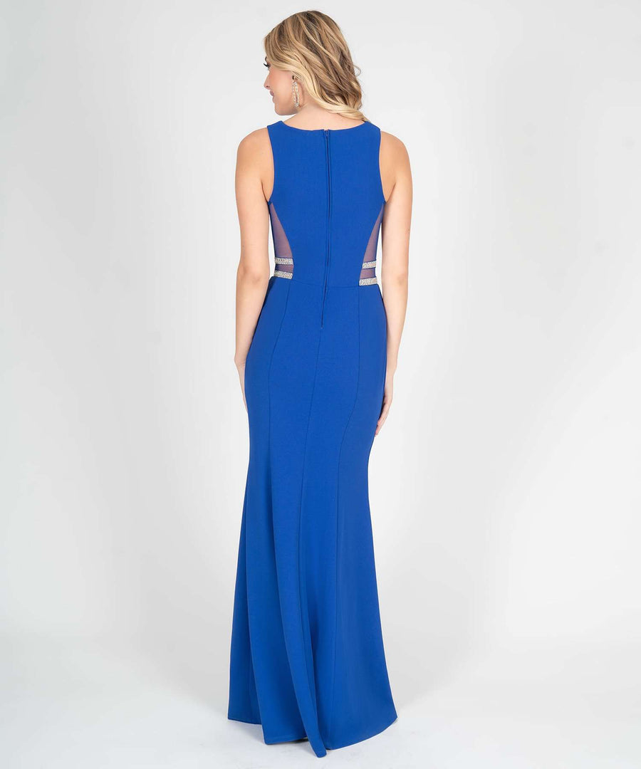 Mara Jewel Sides Maxi Dress-Prom-Speechless.com