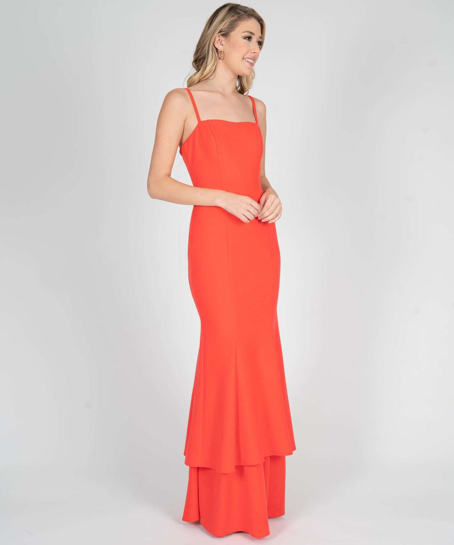 Arden Double Layer Maxi Dress-Prom-Speechless.com