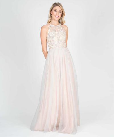 Blake Embroidered Ball Gown