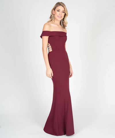 Beatrice Off The Shoulder Maxi Dress - Image 2