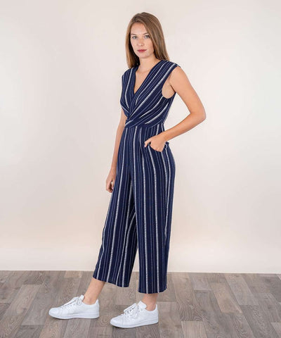 Wanderlust Jumpsuit-Jumpsuit-Large-Navy-Speechless