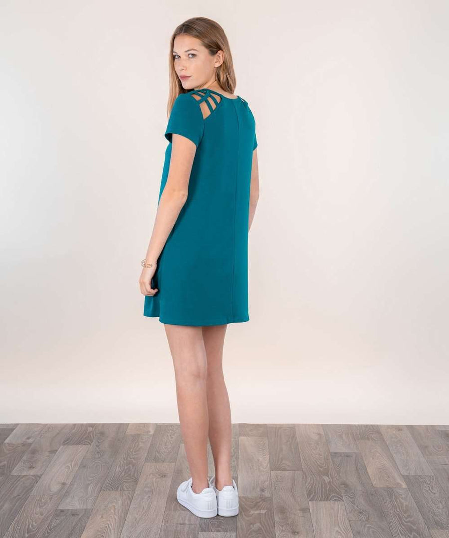 Huntington Shift Dress-Casual Dresses-Speechless