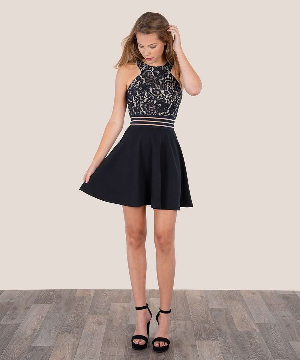 Skater Girl Dress-Speechless