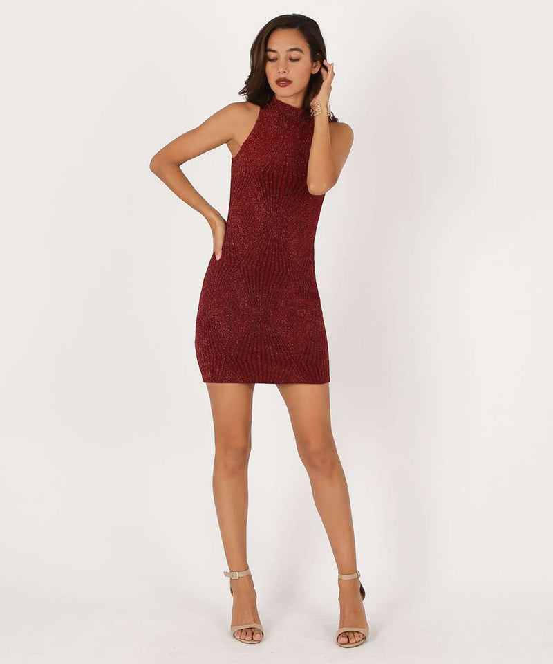 Don't Mock Me Bodycon Dress-Speechless
