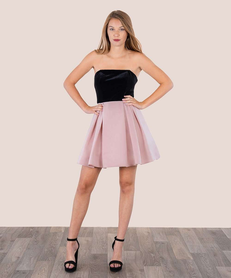Velvet Rose Party Dress
