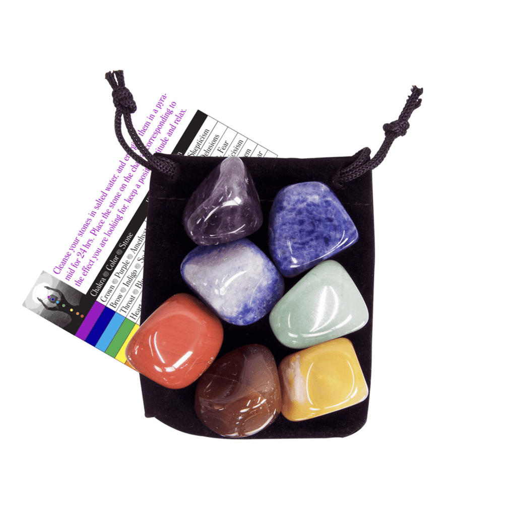 CHAKRA BALANCING CRYSTAL KIT - Energy Wicks