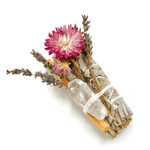 FLORAL HEALING SMUDGE BUNDLE - Energy Wicks
