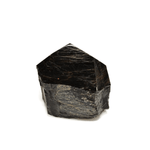 BLACK TOURMALINE POINT WITH CUT BASE - Energy Wicks