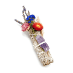 PEACE MAKER FLORAL SMUDGE STICK