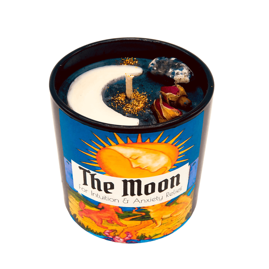 THE MOON TAROT CANDLE - Energy Wicks