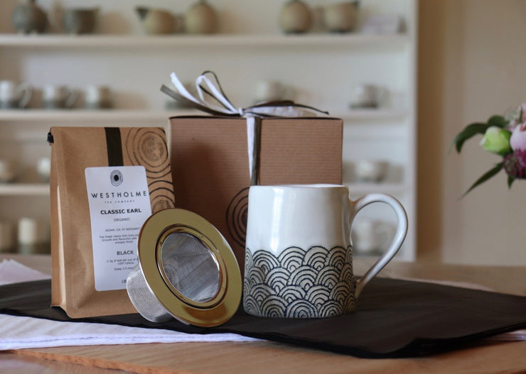 Tea for One Gift Set - White Clay