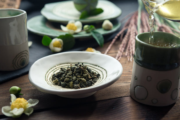 Jade Green Dragon Oolong Tea from Westholme Tea Makers
