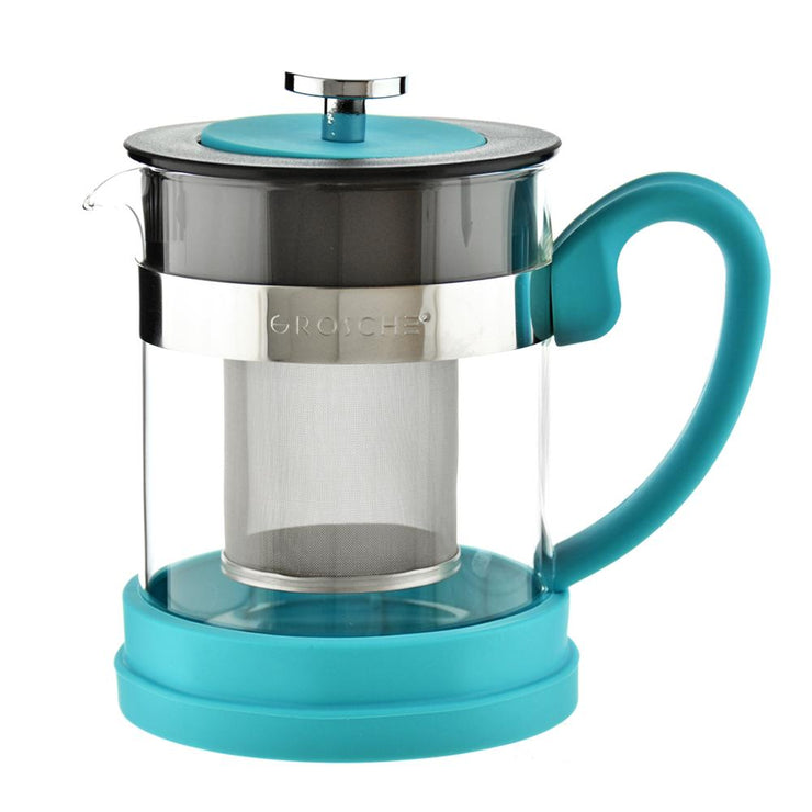 Grosche VALENCIA Infuser Teapot 600ml- Turquoise
