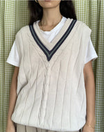 Load image into Gallery viewer, Tennis Sweater Vest