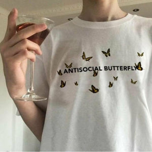 Antisocial Butterfly Tee