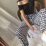 Load image into Gallery viewer, Checkered Pants