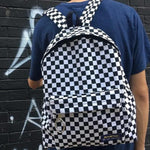 Load image into Gallery viewer, Checkered Backpack