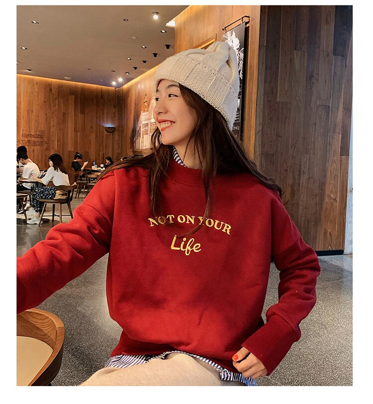 Not On Your Life Sweatshirt