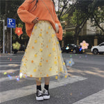 Load image into Gallery viewer, Floral Midi Skirt
