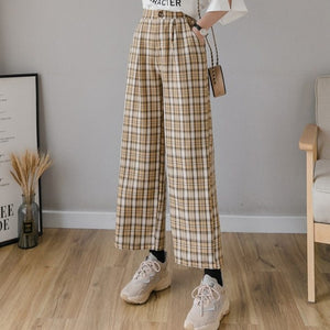 Workday Plaid Pants