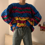 Load image into Gallery viewer, Grafitti Knit Sweater