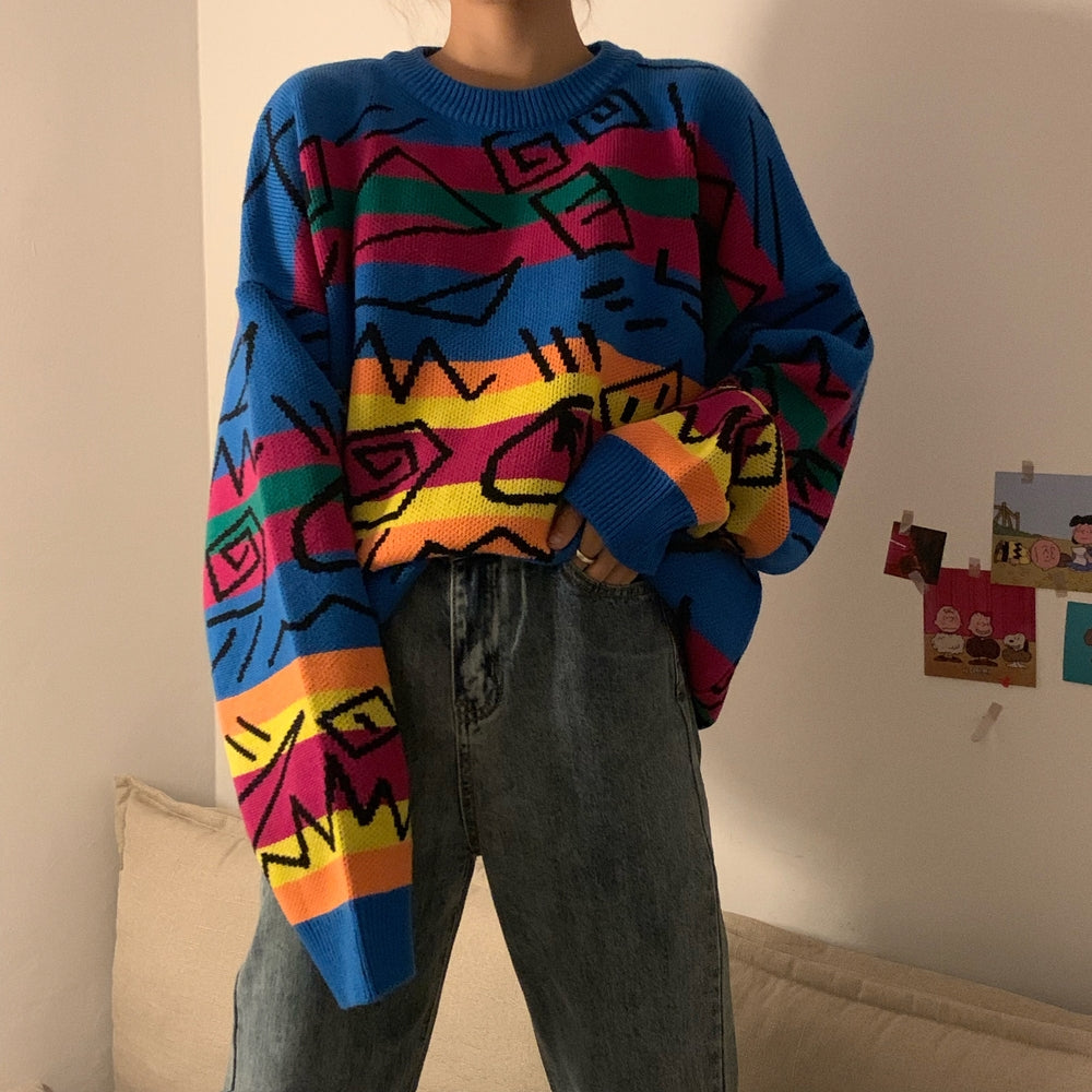 Grafitti Knit Sweater