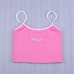 """Babygirl"" Crop Top - aesthetic"