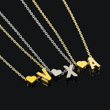 Personalised Letter Necklace - aesthetic