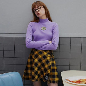 Sad Sick World Cropped Sweater