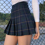 Load image into Gallery viewer, Pleated Mini Skirt - aesthetic