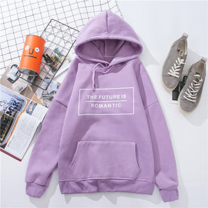 """The Future Is Romantic"" Hoodie - aesthetic"