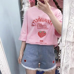Load image into Gallery viewer, Strawberry Milk T-Shirt - aesthetic