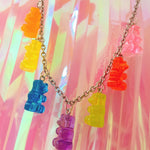 Load image into Gallery viewer, Gummy Bear Necklace - aesthetic