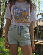 Load image into Gallery viewer, Peaches Graphic Tee