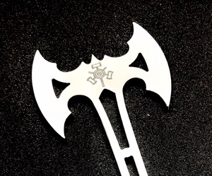 An exklusive miniaxe that you can use as a beer opener or a pendant.
