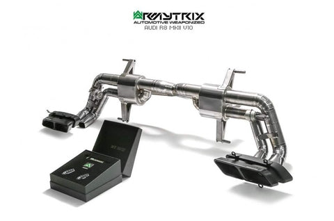 Armytrix Titanium Series Exhaust, MKII Audi R8 V10