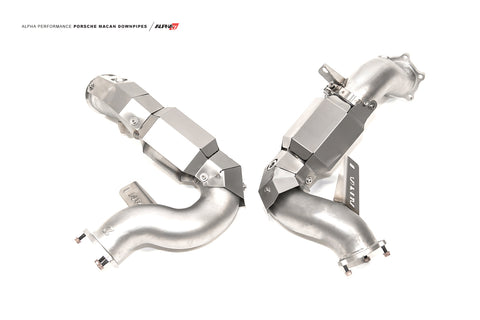 Alpha Performance Porsche Macan Downpipes