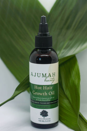 Hot Hair Growth Oil - Ajumahbeauty