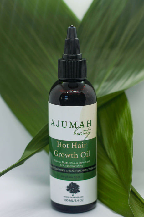 Hot Hair Growth Oil