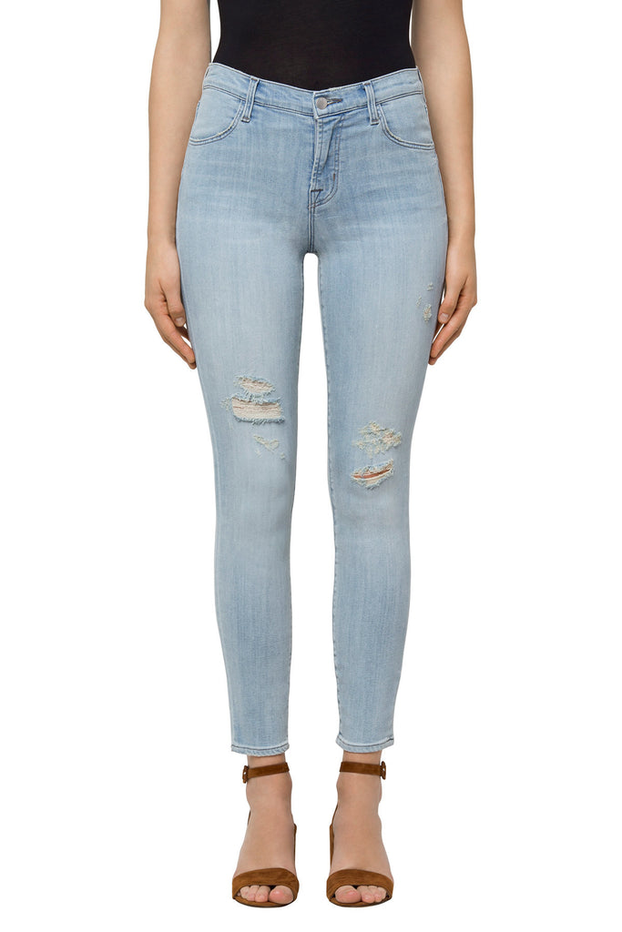 Alana High-Rise Crop Skinny in Refresh Destruct