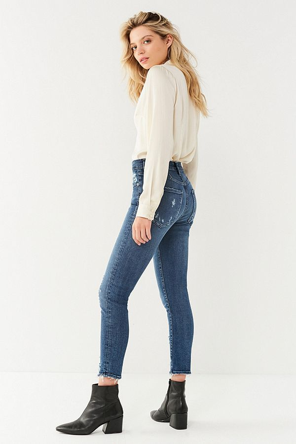 Sophie High-Rise Skinny Crop in Paradox