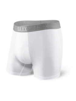 Platinum Boxer Fly in White - D