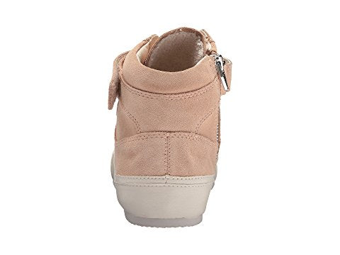 Westly Suede High Tops in Blush